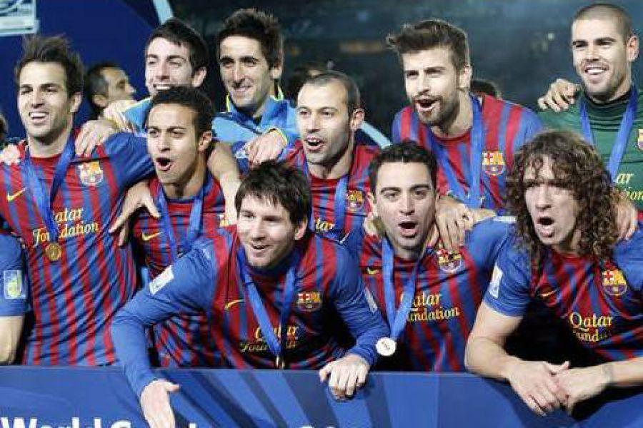 Barcelona Goleo A Santos Y Es El Campeon Del Mundial De Clubes Fm Spacio 98 1 Franck Santa Fe Argentina