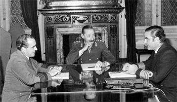 Hace 33 años asumia Jorge Videla