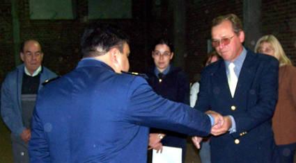 Foto archivo Relaciones Policiales URXI