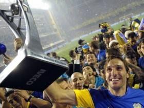 Boca campeon Apertura 2011 - Foto Telam