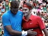 Del Potro y Federer - Foto Telam