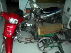 Moto secuestro - - Foto Relaciones Policiales URXI
