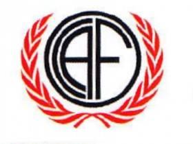 Logo CAF - 90 Aniversario