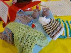 Exposicion Crochet - Foto Comuna de Franck