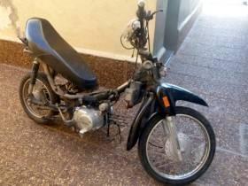 Moto sustraida - Foto Relaciones Policiales URXI