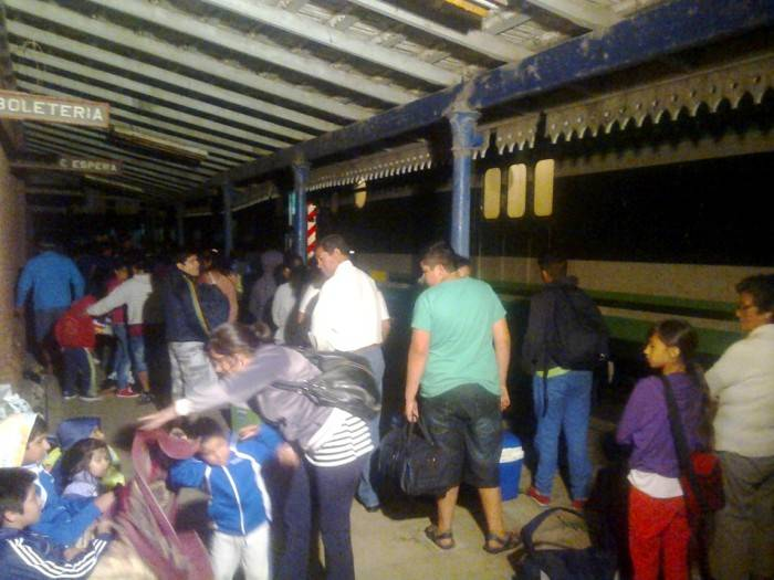 Trasbordo tren Sa Pererira - Foto Relaciones Policiales URXI