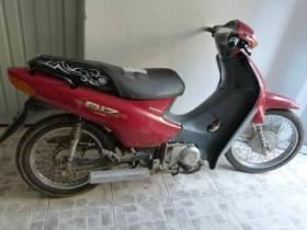 Moto robada - Foto Relaciones Policiales URXI