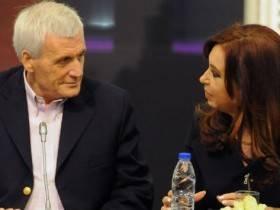 Calo y CFK - Foto Presidencia