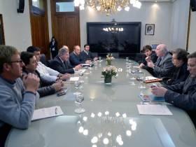 Casamiquela por el agro - Foto Presidencia