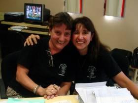 Irene Neffen y Gabriela Beltrame - Foto FM Spacio