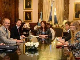 CFK con directivos de Ford - Foto Presidencia