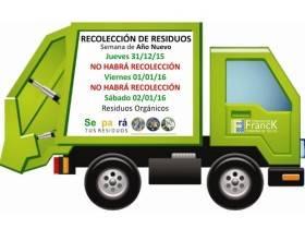 Recoleccion de residuos - Imagen Comuna de Franck