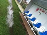 Estadio Venancio Rathge con agua - Foto FM Spacio