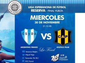 LEF Final Tercera CSyDA vs CAP - Imagen Prensa LEF