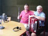 Oscar Zurchsmitten y Hugo Invikelried  - Foto FM Spacio