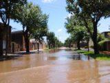 San Carlos Centro inundado