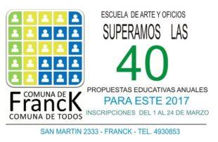 Propuestas educativas - Escuela Artes y Oficios