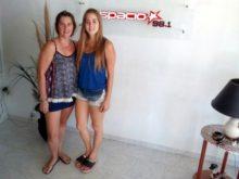 Raquel Vogt  y Paula Bessone - Foto FM Spacio