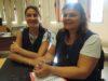Laura Pagliarioli y Gabriela Livrini - Foto FM Spacio
