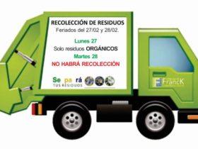 Recoleccion de residuos - Comuna de Franck
