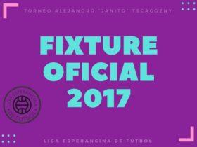 Fixture 2017 de Primera LEF