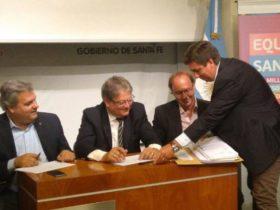 Pirola en licitacion Plan Equipar Santa Fe