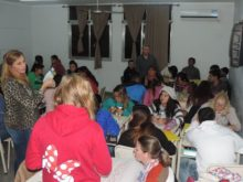 Ley de Educacion en el EEMPA 1031 - Foto FM Spacio