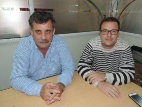 Oscar Ritter y Mauro Vogt - Foto FM Spacio