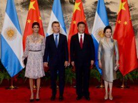 Macri en China - Foto Telam