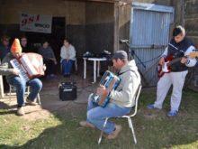 Salzmann en vivo desde Pujato - Foto FM Spacio