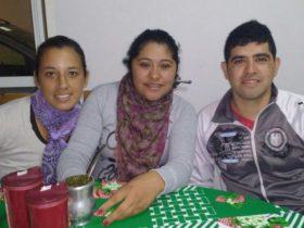 Las Chapes con Maldonado - Foto FM Spacio