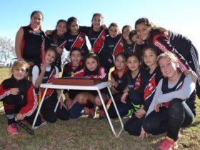 Hockey infantil del CAF - Foto FM Spacio