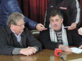 Fascendini y Ritter en conferencia - Foto FM Spacio