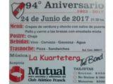 Tarjeta aniversario CAF