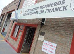 Sede Bomberos Voluntarios - Foto FM Spacio
