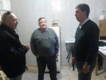 Pirola con Telmo y Manzonni en Sa Pereira