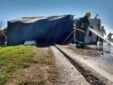 Vuelco de camion - Foto BVF