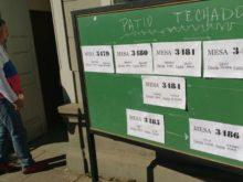 Elecciones en Escuela 321 - Foto FM Spacio