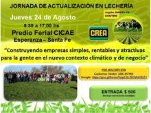 Jornada de Lecheria - Afiche CREA