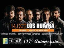 147 Aniversario - Afiche Comuna de Franck