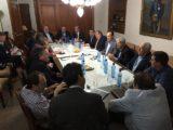 Reunion con Ministros Provinciales