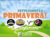Fiesta de la Pimavera - Afiche Comuna de Franck