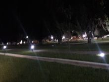 Rotura de luminarias - Foto Comuna de San Agustin