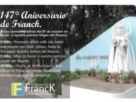 Aniversario Virgen del Rosario
