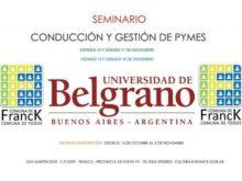 Seminario de la Universidad de Belgrano - Afiche