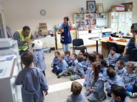 Educación vial en el Jardin - Foto Comuna de Franck