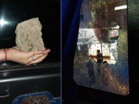 Agresion publica - Fotos Lu Chavez