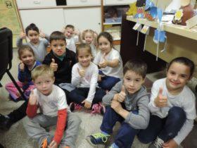 Alumnos del Jardin 124 - Foto FM Spacio
