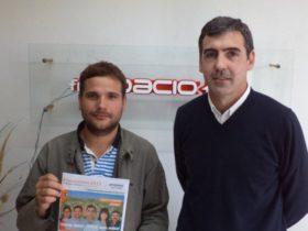 Damian Franzen y Javier Enrico - Foto FM Spacio