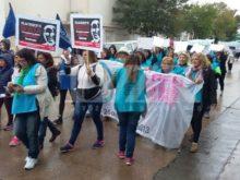 Marcha en contra de Placenzotti - Foto LVZR